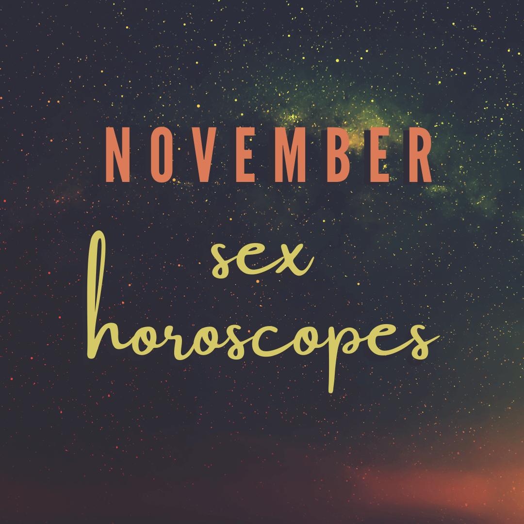 November Sex Horoscopes