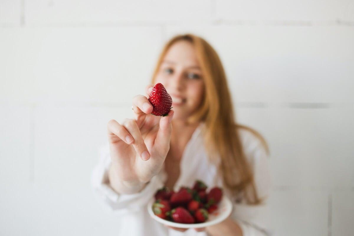 increase sex drive aphrodisiac strawberries