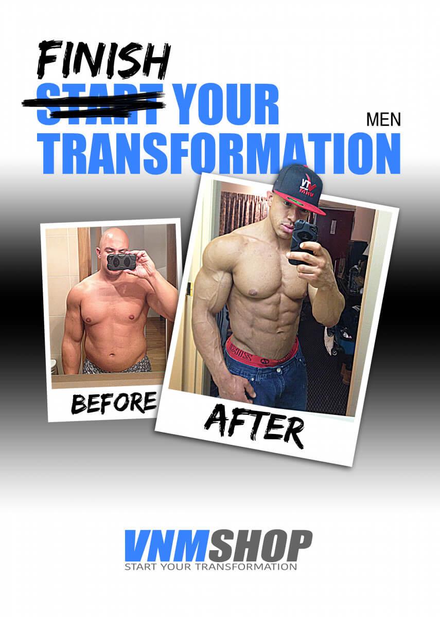 Transformatie boekje mannen