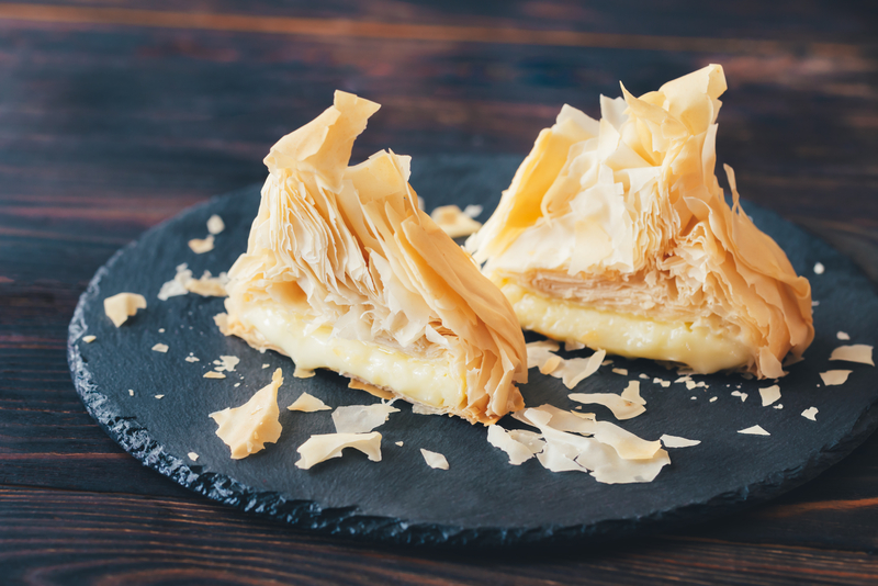 butter phyllo pastry