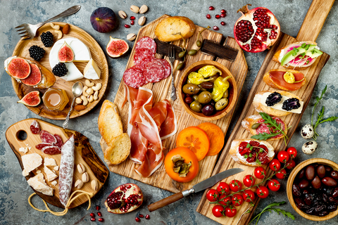 Elegant Tapas For All:  Make-Ahead Meals For Summer Entertaining