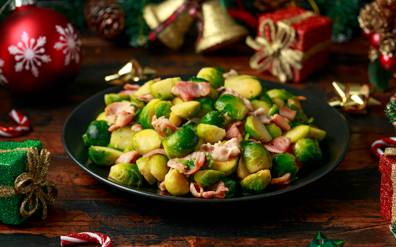 holiday brussel sprounts