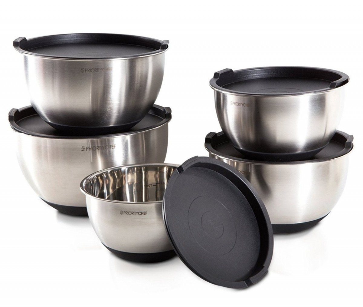 stainless steel mixing bowls set