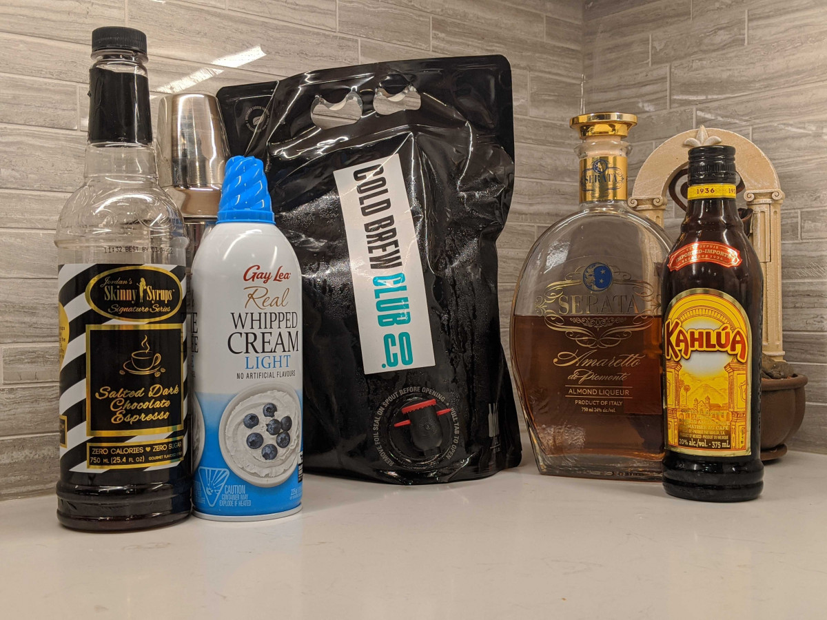 Cold brew cocktail ingredients