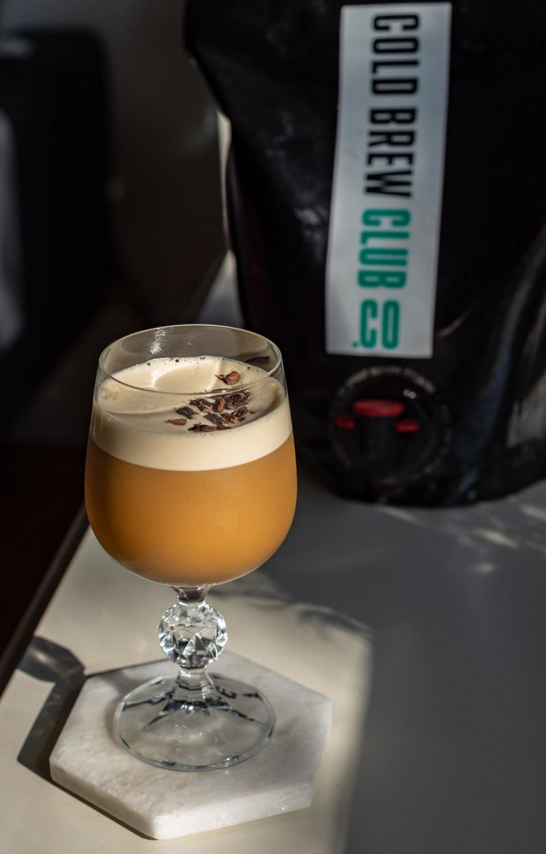 Cold brew coffee cocktail