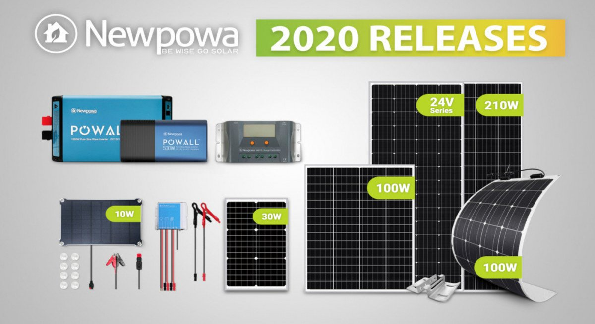 Newpowa New Solar Products in 2020