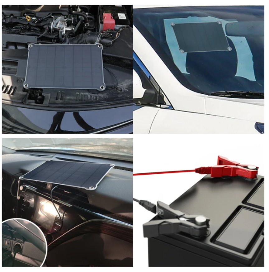New Product Release- 10W Solar battery Maintainer Kit