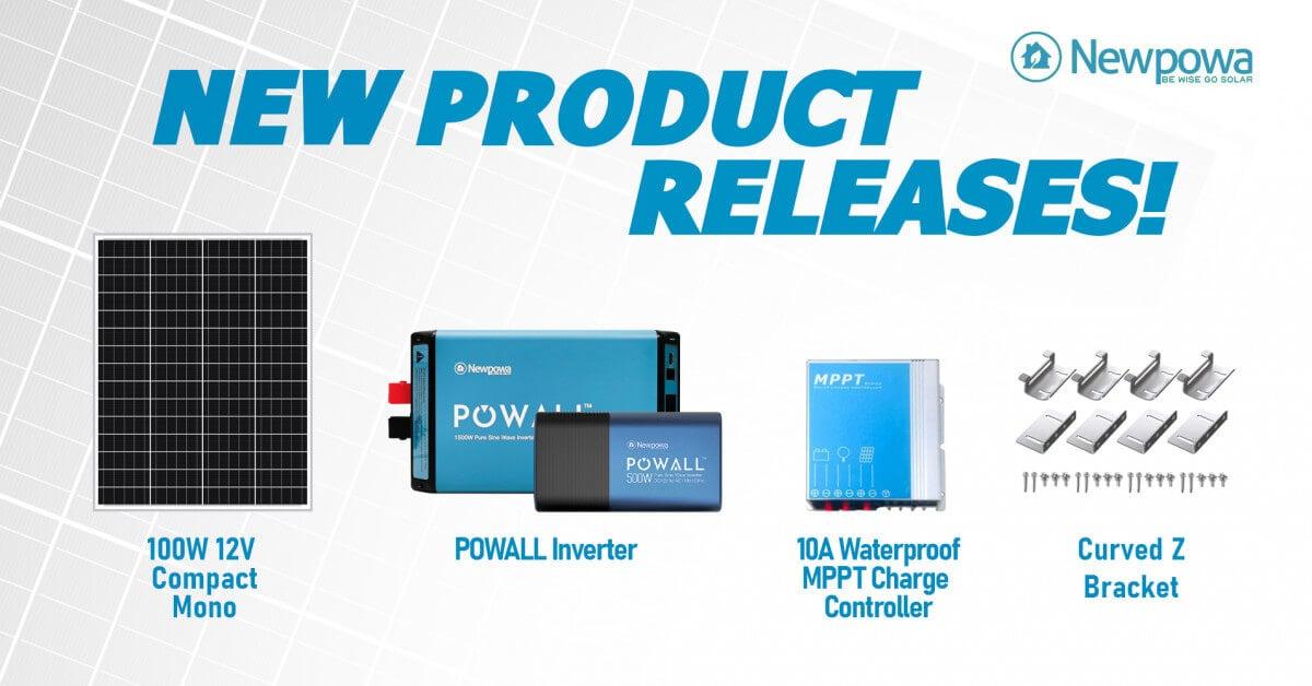 Newpowa New Releases - Meet POWALL Inverter Series