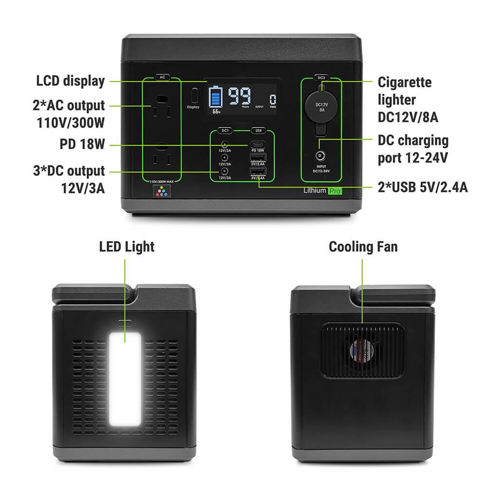 newpowa 300w solar generator