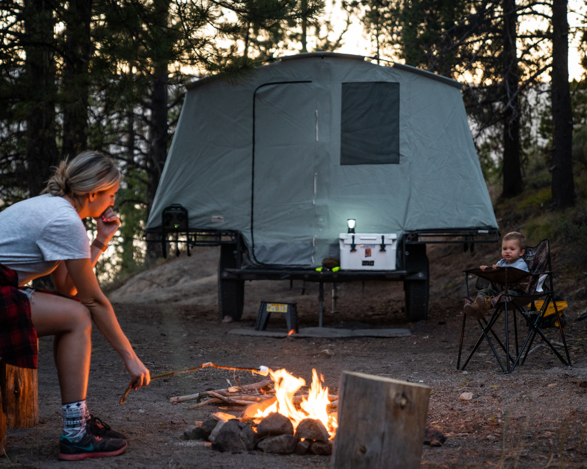 Camping Hacks With Kids