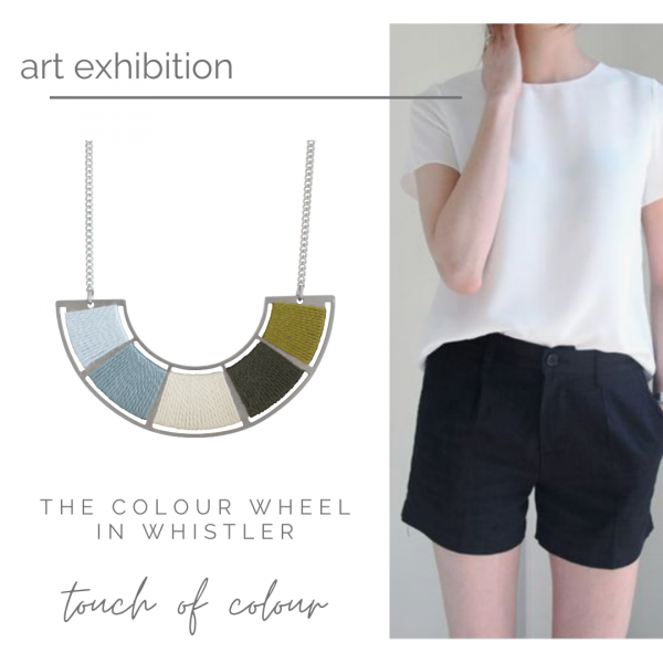 What to wear with this - Summer in the city edition with Colour Wheel in Whistler