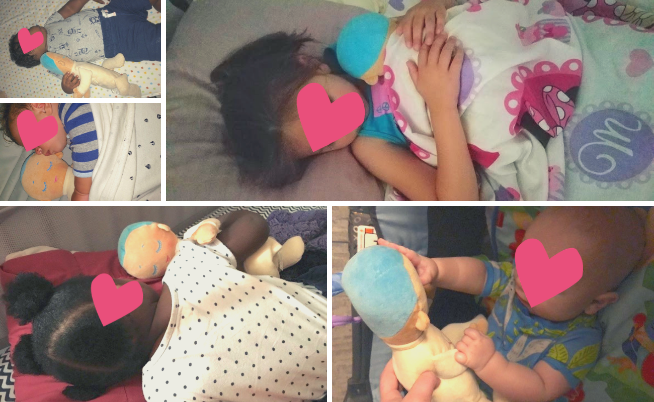 Lulla doll has shown to help foster children