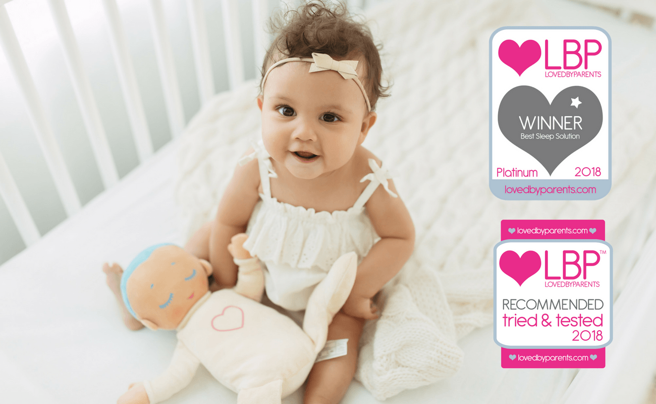 Lulla doll voted Best Sleep Solution by parents
