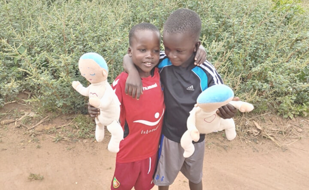 Lulla dolls donated to children in Uganda