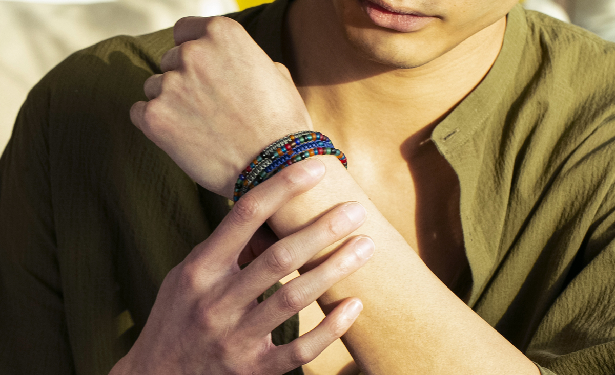 Nature Meets Artistry - The Sustainable Vetro Bracelet