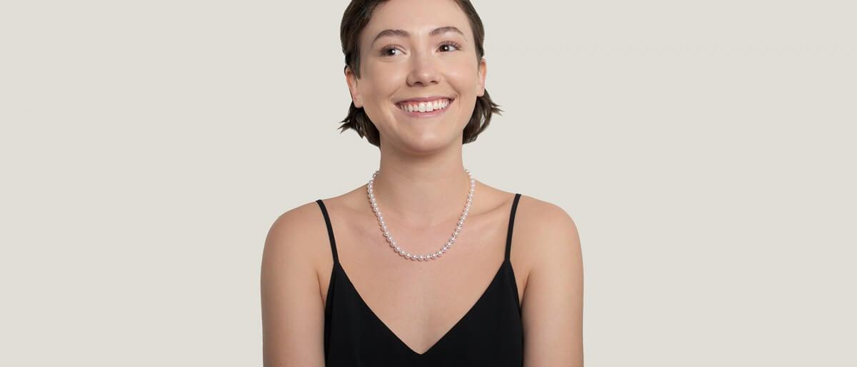 Regular White Hanadama vs. Natural White Hanadama Pearls