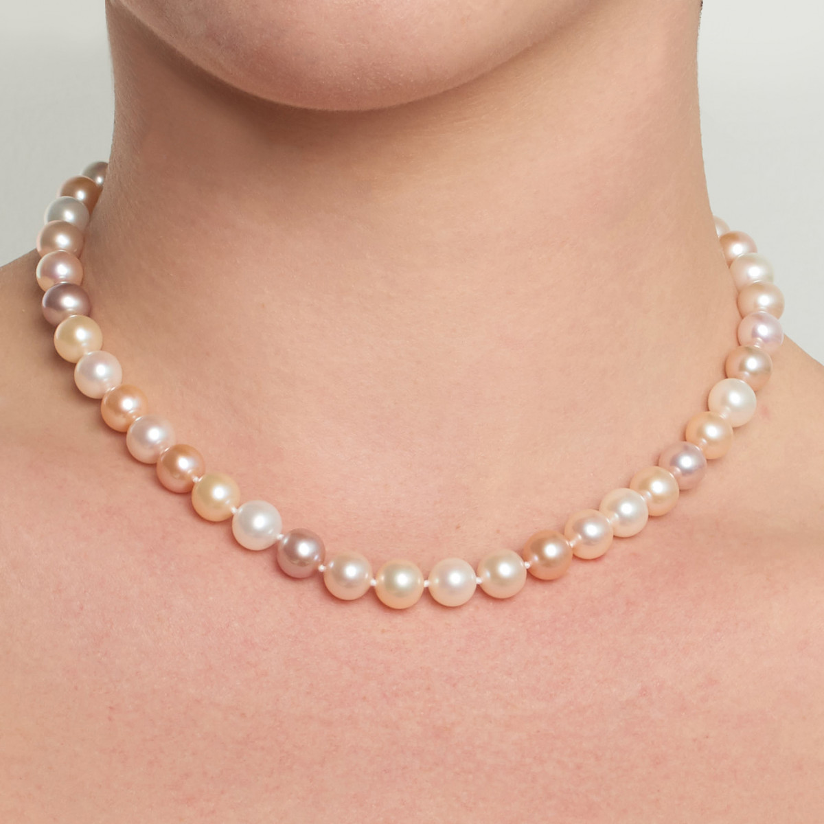Pastel Multicolor Freshwater Necklace