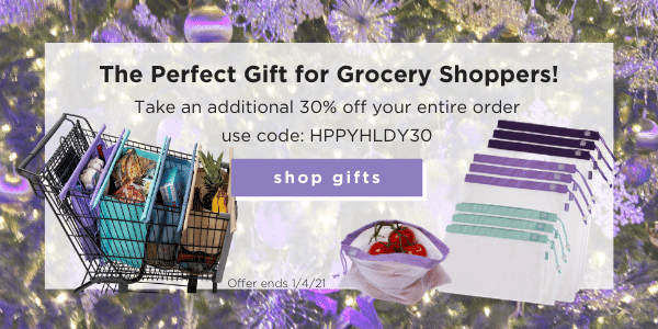The perfect gift for grocery shoppers! Take an additional 30% off your entire order use code: HPPYHLDY30