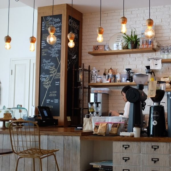 inside your favorite coffee shop