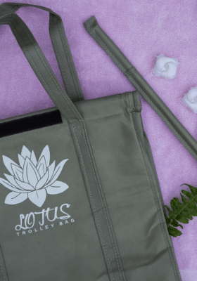 remove the rods from each Lotus bag