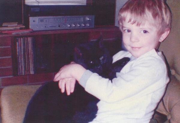 Cole & Marmalade Cat Man Chris