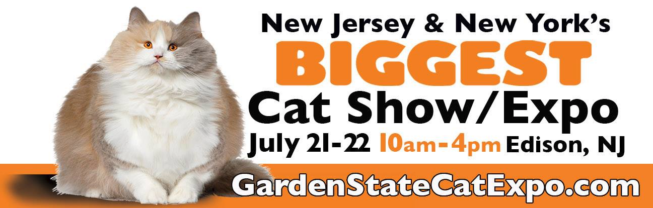 1TDC™ Will Be at New Jersey & New York's Biggest Cat Show/Expo