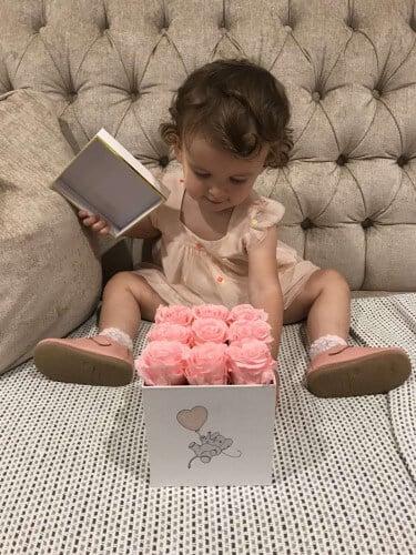 Eternal Roses Baby Gift Box