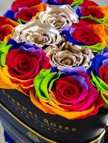 Eternal Rose and the Rose Color Meaning