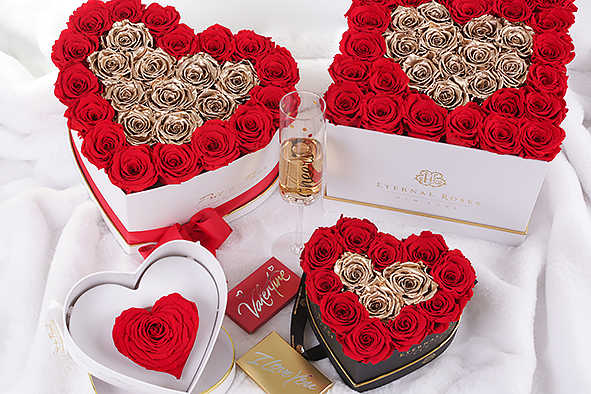 Valentine's Gifts of Eternal Roses For The Trendsetter