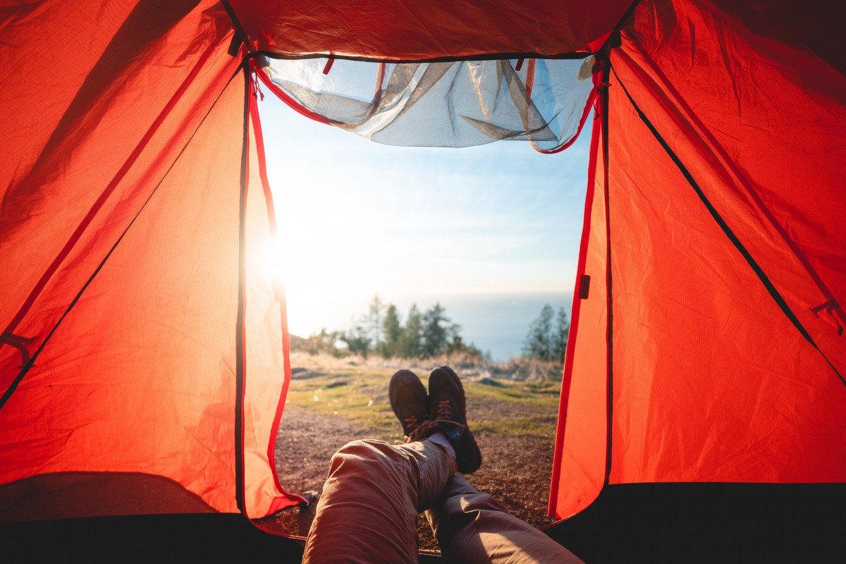 how to sleep in a tent comfortably