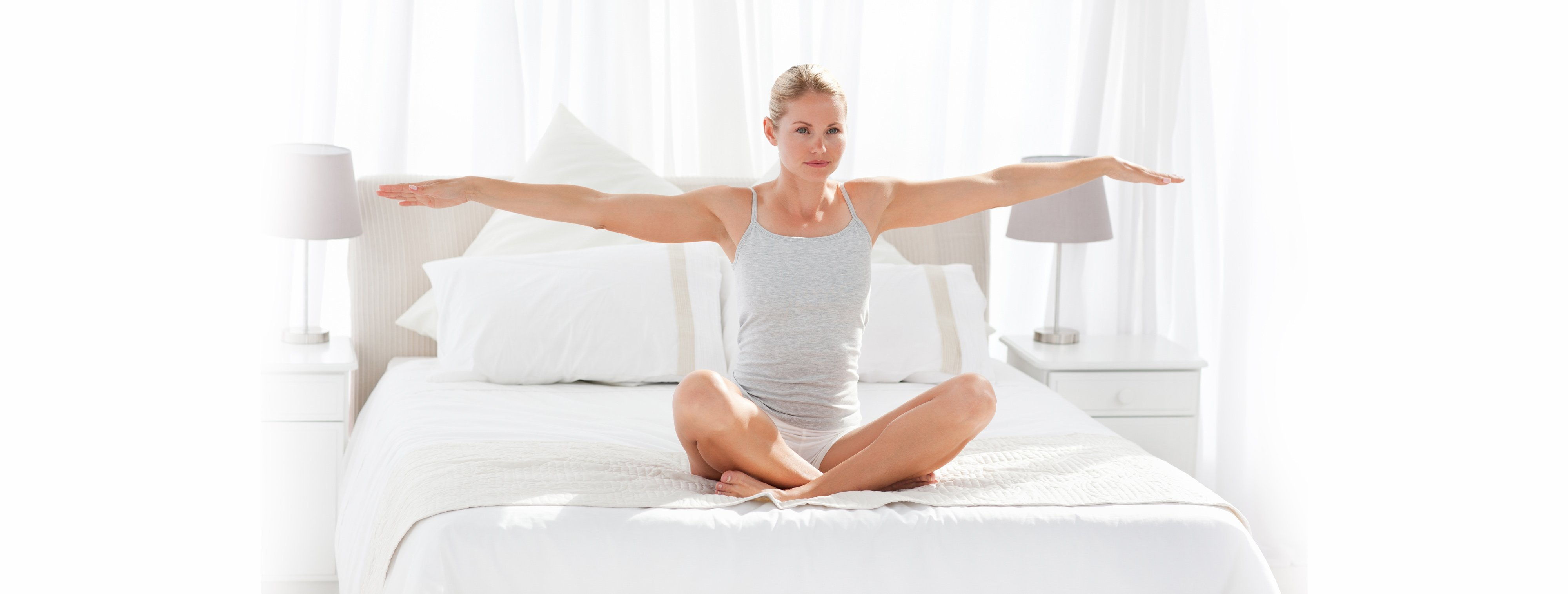 New Year, New You: Check Out These 4 Yoga Moves You Can Do in Bed