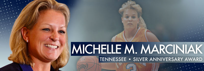 SHEEX® CO-FOUNDER MICHELLE MARCINIAK HONORED BY THE NCAA