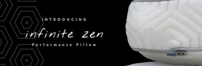 Introducing the INFINITE ZEN PERFORMANCE PILLOW