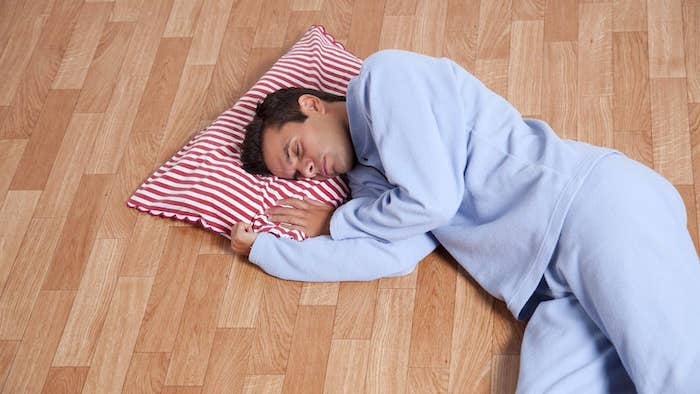 Is Sleeping on the Floor Actually Good for You?