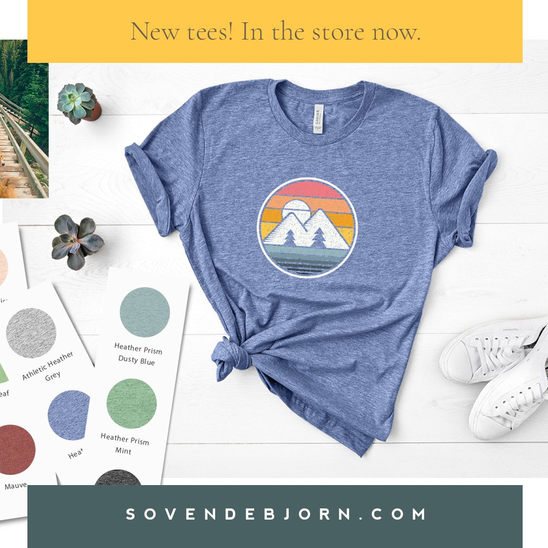 Sovende Bjorn Tees are here!