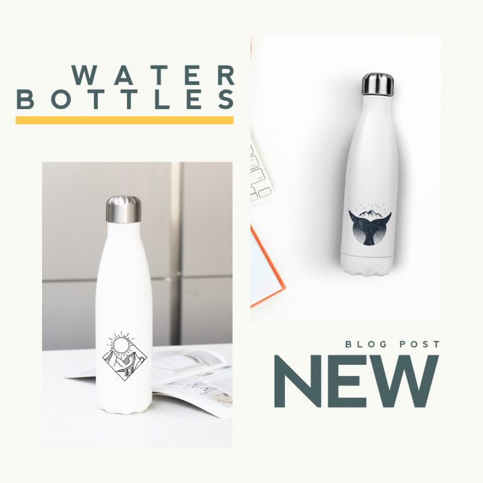 Water Bottles available in the shop now