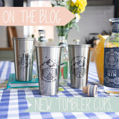 Stainless Steel Tumbler Style Cups