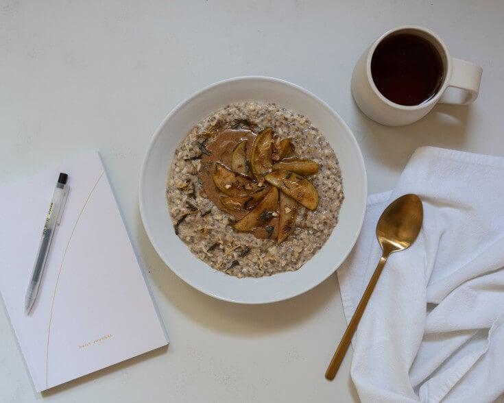 Overnight Oats Recipe: Green Tea Infused