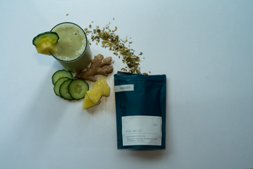 Tea Infused Smoothie Recipe: Morning Pick Me Up