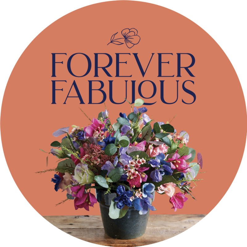 Forever Fabulous Silk and Artificial Flowers