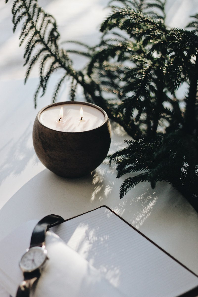 Candle care is paramount to enjoying your holiday fragrances from Hyggelight The Growing Candle.
