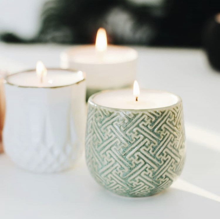 Growing Candles Astrid and Ida are eco-friendly decor that add hygge to any room. @thegrowingcandle