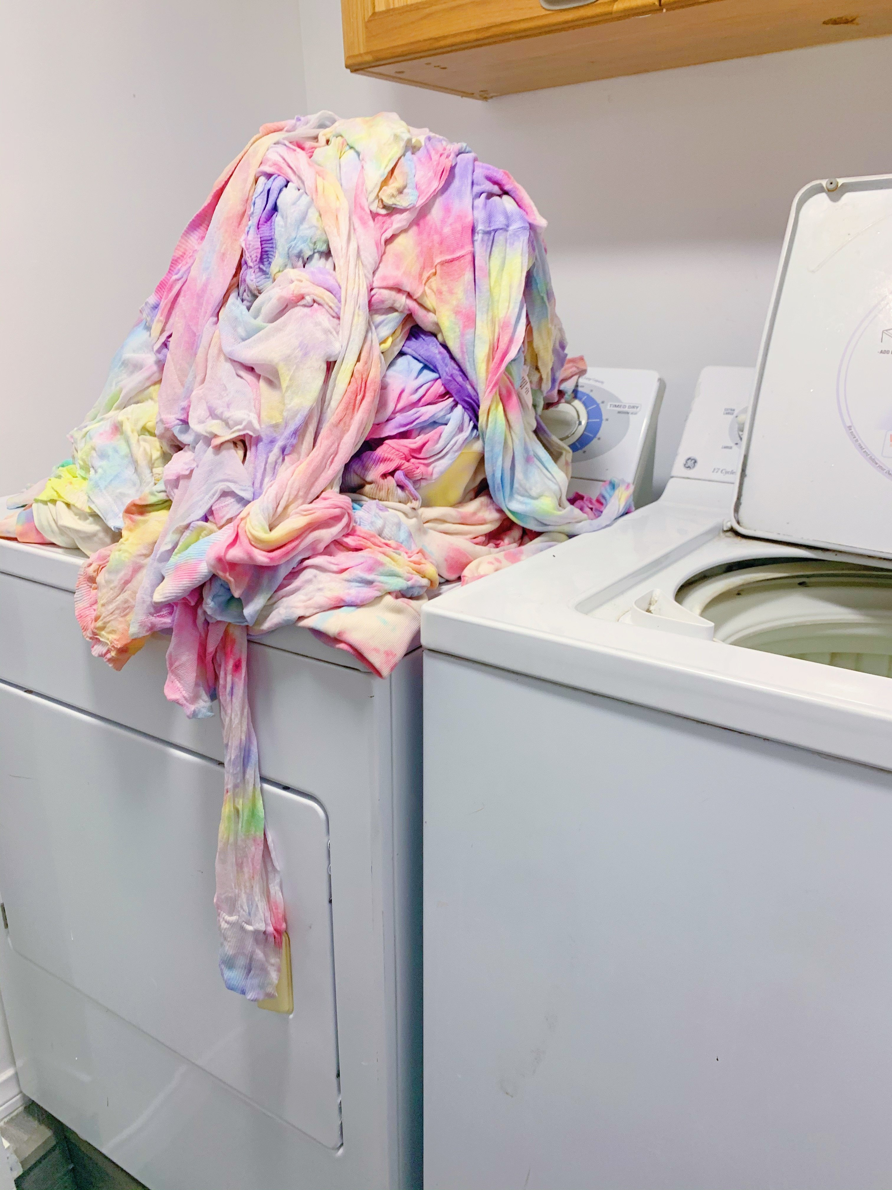 Watercolor Pastel tie dye tutorial!!