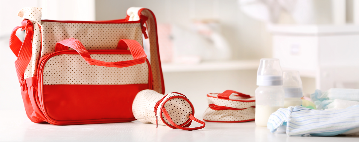 clean and disinfect diaper bags