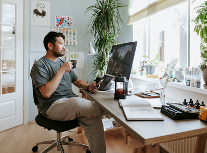 Working from Home: How to Clean and Disinfect Your Home Office