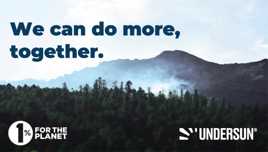 1% for the Planet: Supporting Undersun Fitness Means Improving the Environment