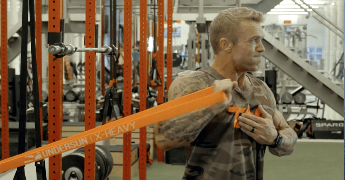Resistance Bands Chest Workout with James Grage