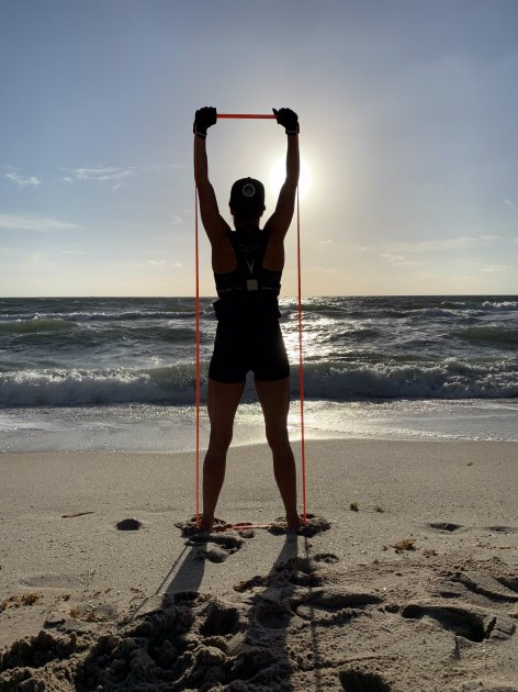 Ultimate Beach Vacation Workout with Bands – Undersun in Mexico