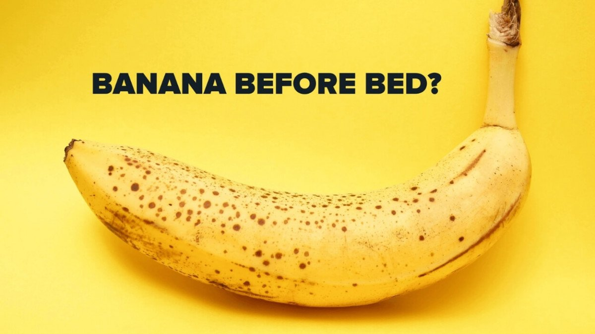 Banana Before Bed and Other Food For Better Sleep