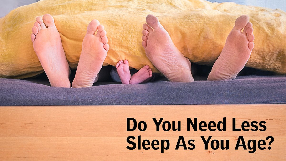 Why We Sleep Lighter As We Age & How Can Weighted Blankets Help Get Enough Sleep